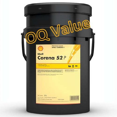 Shell Corena S2P zuigercompressorolie