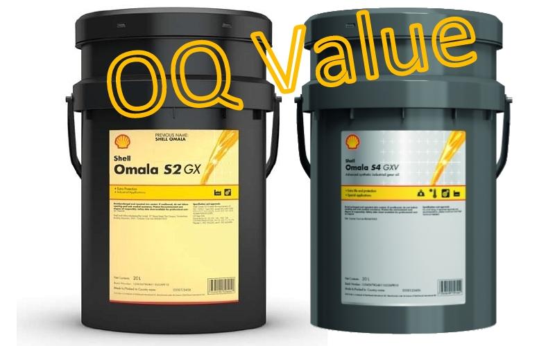 Shell Omala S2 GX en Omala S4 GXV tandwielkastolie