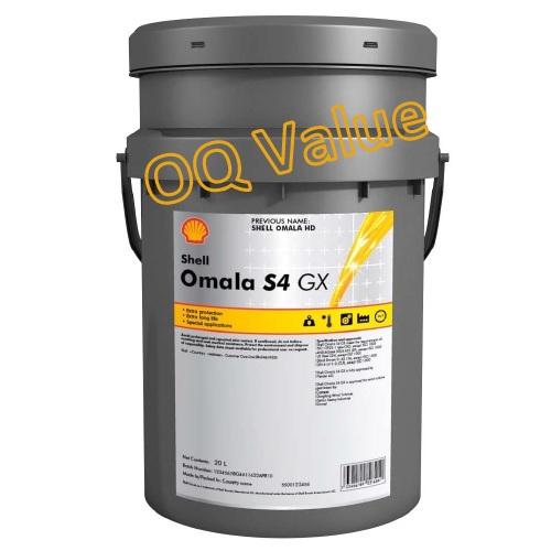 Shell Omala S4 GX synthetische tandwielkastolie