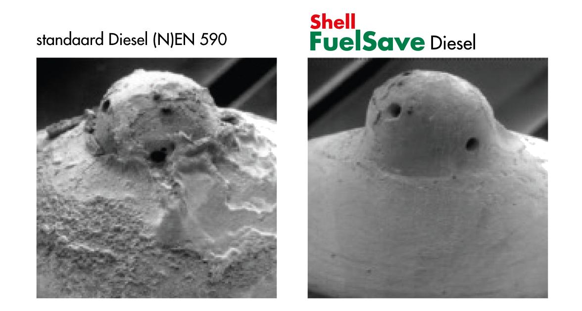 Shell FuelSave voorkomt aanslag op injectoren