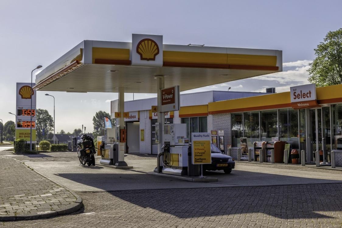 Shell Terneuzen tankstation zeeuws vlaanderen