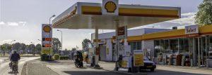 Shell tankstation Terneuzen Zeeland zeeuws Vlaanderen