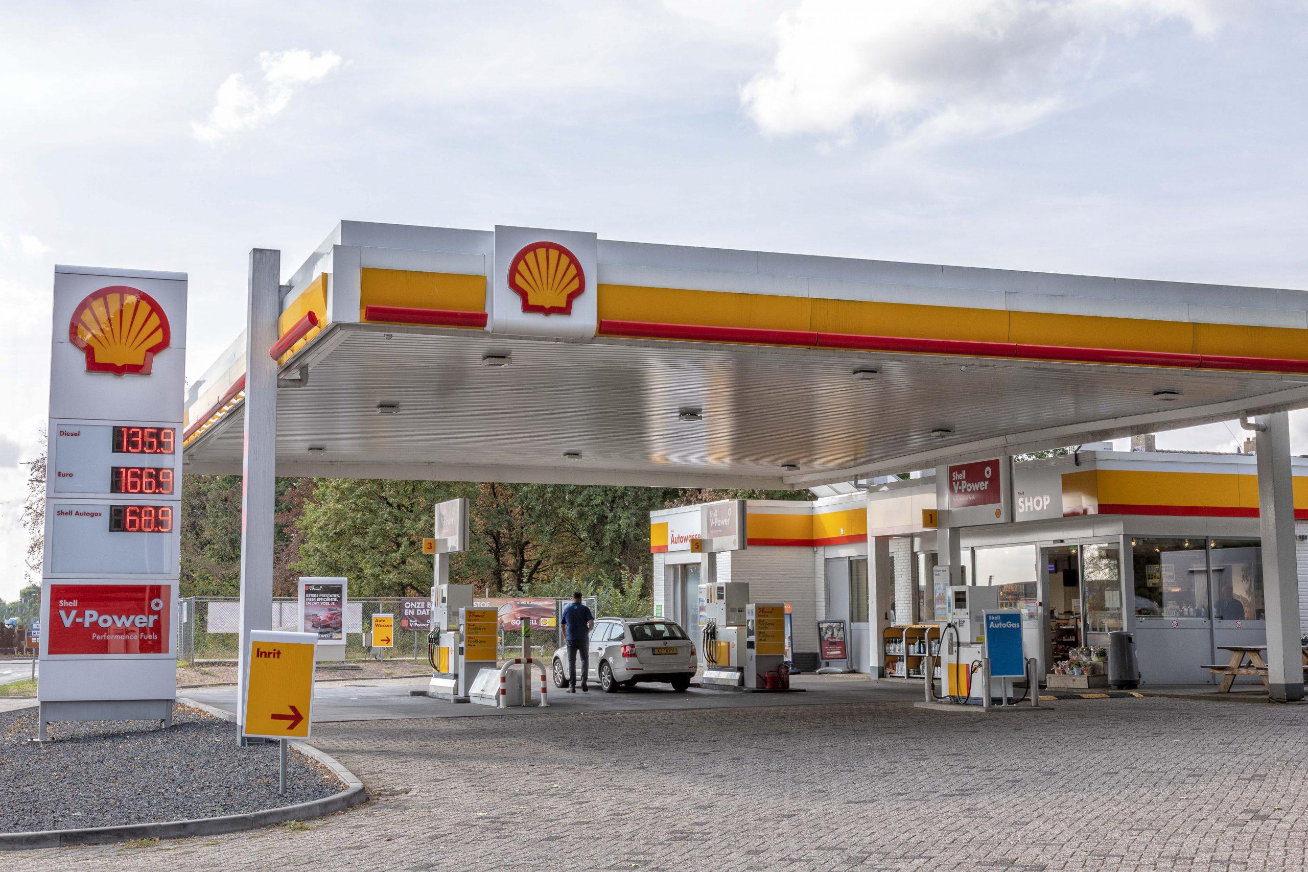Shell 's Heerenberg tankstation