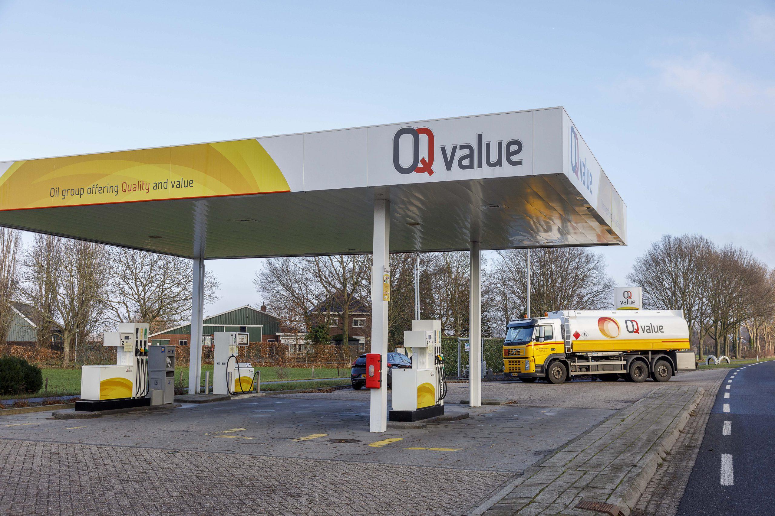Tankstation OQ Value Wehl
