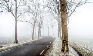 Winter, De Weg, Scène, Sneeuw, Koud, Natuur, Vorst